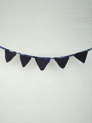 Recycled Chindi Bunting 60in x 5.5in