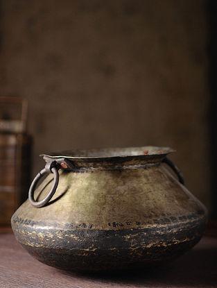 Vintage Brass Chapati Dom (L:10in, W:10in, H:6.2in)