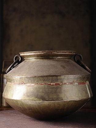 Vintage Brass Chapati Dom (L:14in, W:14in, H:10.5in)