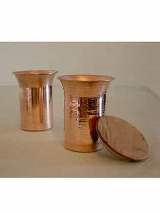 Copper Desktop Carafe (Dia- 4.4in, H- 5.5in)