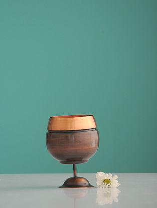 Jaltarang Golden Copper Goblet (L:3.5in, W:3.5in, H:0.122in)
