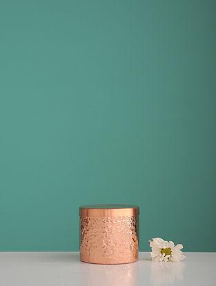 Jaipuri Golden Copper Trinket (L:2.5in, W:2.5in, H:0.094in)