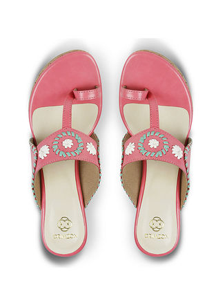 Pink Handcrafted Wedges