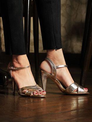 Gold Handcrafted Heels