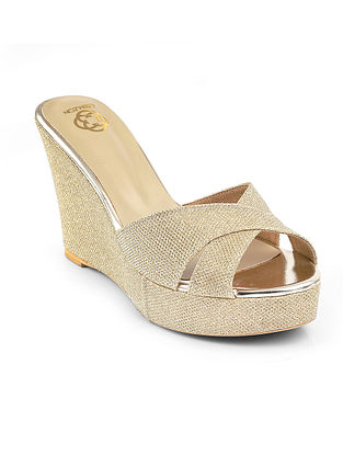 Gold Handcrafted Wedges