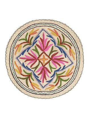 Namda Circle Rug 22.5in x 23.5in