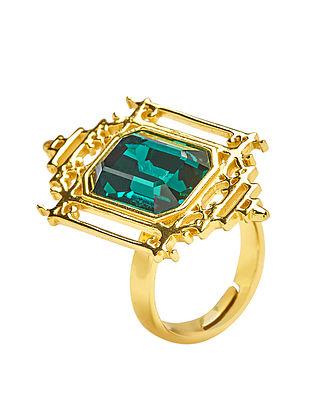 EINA AHLUWALIA-FE Lantern Ring Made with Swarovski Crystals