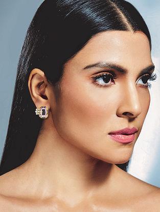 Confluence Crystals From Swarovski Isharya Night Song Classic Stud Earrings