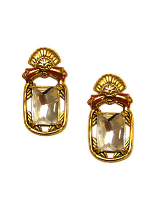 NIDA MAHMOOD- India Electric Petite Studs Made with Swarovski Crystals