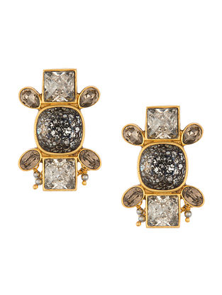 Ashima Leena Heera Noori Ruhani Earrings With Swarovski Crystals