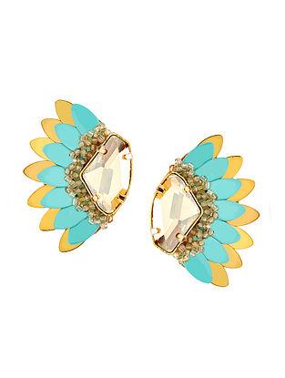 Deepa Gurnani Anush Earrings Made with Swarovski Crystals