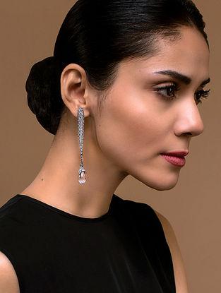Tarun Tahiliani- Luminescent Strand Earrings Made with Swarovski Crystals