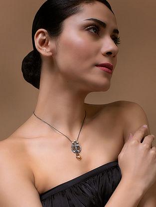 Tarun Tahiliani- Luminescent Deco Pendant Made with Swarovski Crystals & pearls