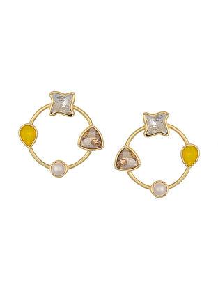 ZARIIN - Three Sixty Five Days Earrings Made with Swarovski Crystals