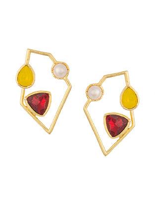 ZARIIN - Smells Like Power Earrings Made with Swarovski Crystals