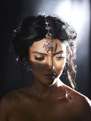 SUNEET VARMA- Chandelier Maang Tikka Made with Swarovski Crystals