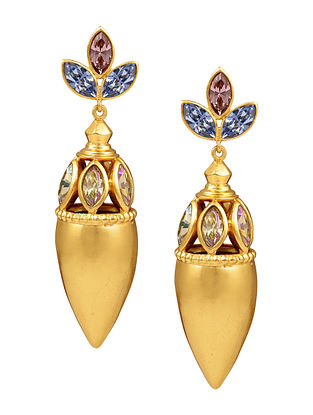 Confluence Crystals from Swarovski Amrapali Sunset Ritual Capsule Earring