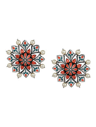 Confluence Crystals from Swarovski Amrapali Mughal Garden Stud Earring