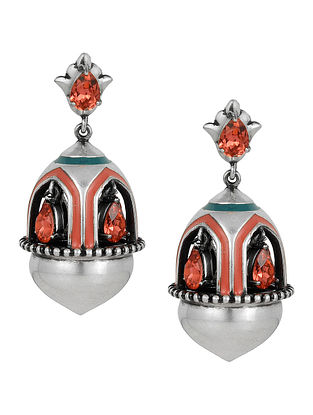 Confluence Crystals from Swarovski Amrapali Mughal Garden Window  Earring