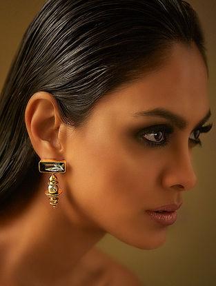 Confluence Crystals from Swarovski JJ Valaya Ranas Warrior Princess Dome Earrings