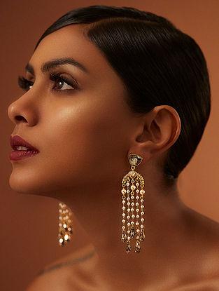 Confluence Crystals from Swarovski Tarun Tahiliani Tara Briolette Earrings