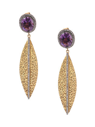 aedeec4a1e1 Amethyst Gold-plated Silver Earrings
