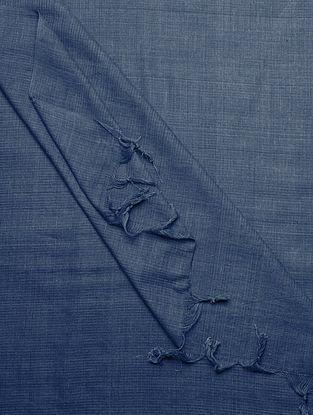 Indigo Natural Dyed Handloom Cotton Dupatta by Jaypore