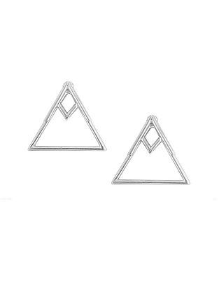 Classic Silver Stud Earrings