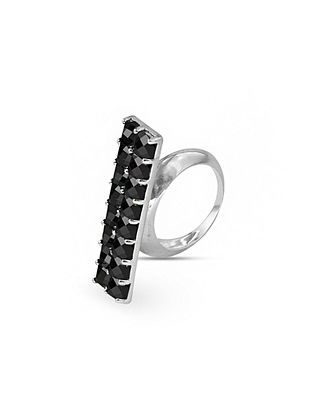 Black Silver Ring (Ring Size: 15)