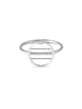 Classic Silver Ring (Ring Size: 14.5)