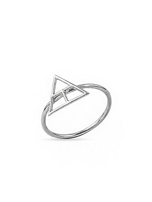 Classic Silver Ring (Ring Size: 13.5)