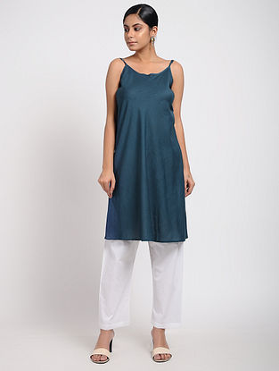Blue Cotton Slip