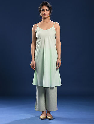 Green Cotton Slip