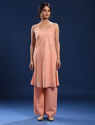 Peach Cotton Slip