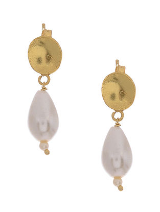 Baroque Pearl Gold-plated Silver Earrings