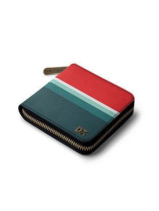 Multicolored Printed Vegan Leather Wallet