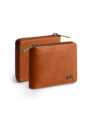 Tan Vegan Leather Wallet