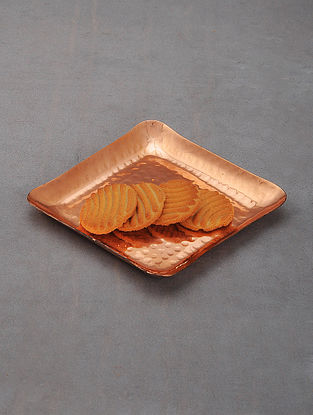 Handcrafted Copper Platter
