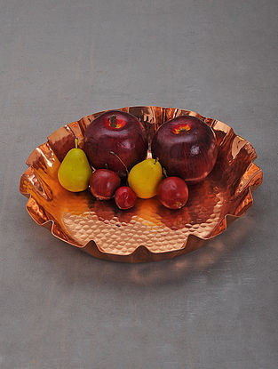 Handcrafted Copper Serving Platter