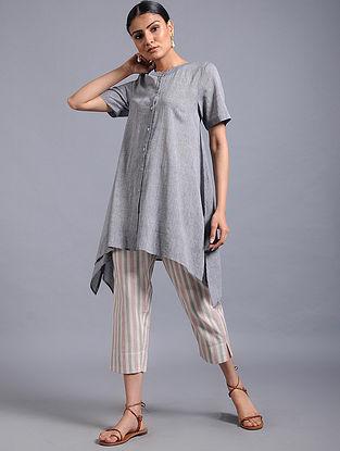 Grey Khadi Top
