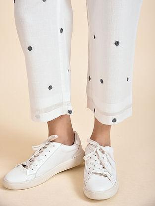 Ivory Jamdani Pants