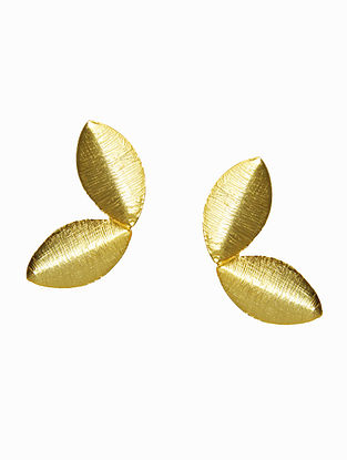 Gold Plated Handrafted Earrings