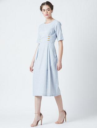 Nellie Blue Cotton Dress