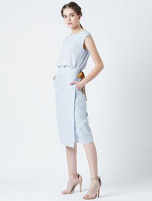 Alicia Blue Cotton Dress