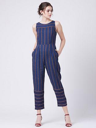 Winona Blue Rayon Jumpsuit