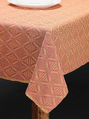 Multicolored Cotton 6 Seater Table Cover(L:89in x W: 60in)