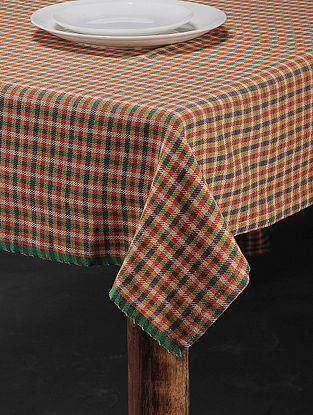 Yellow Cotton Table Cover (61in x 61in)
