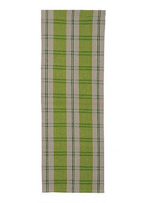 Green Jacquard Rug