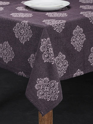 Grey Cotton Table Cover