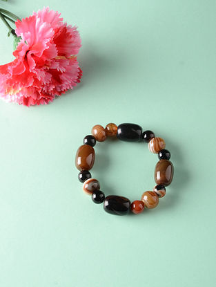 Brown Onyx Natural Tumble Bracelet
